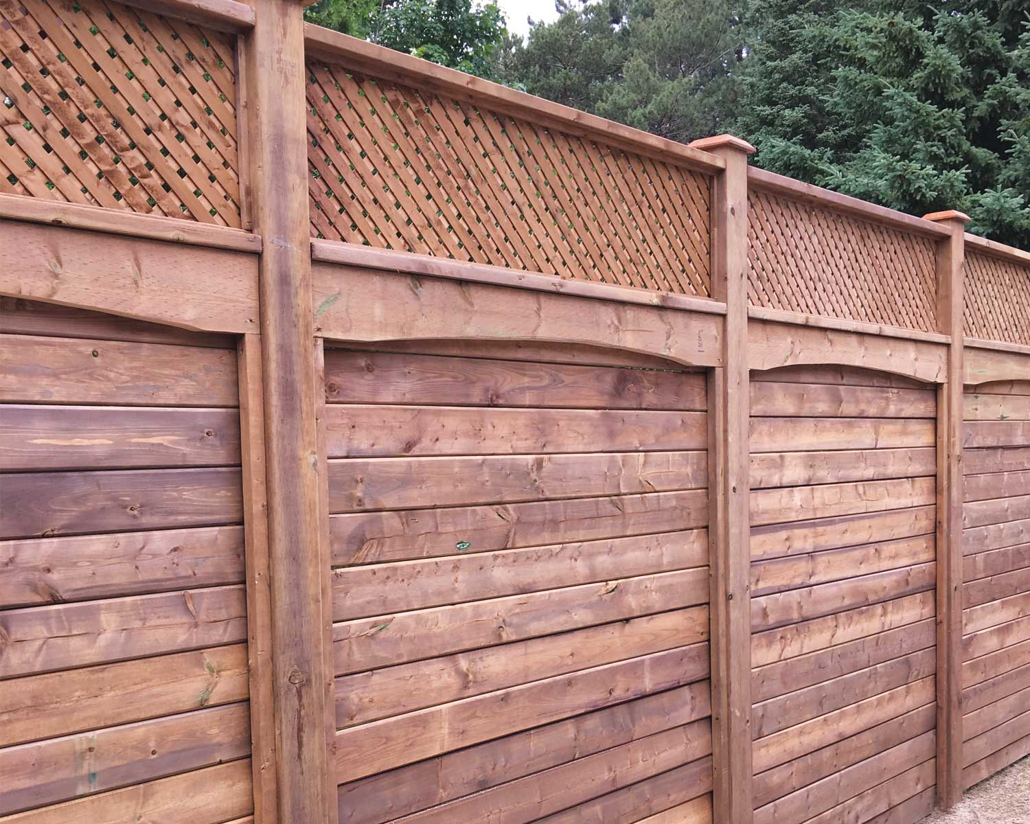 Commercial Fence Building Kitchener Citywide Property